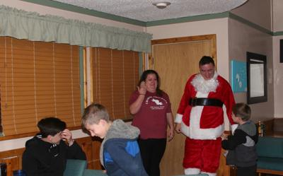 Great grandmother brings Dad home for Christmas