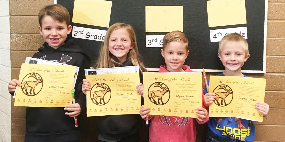 RVES honors October all stars of the month