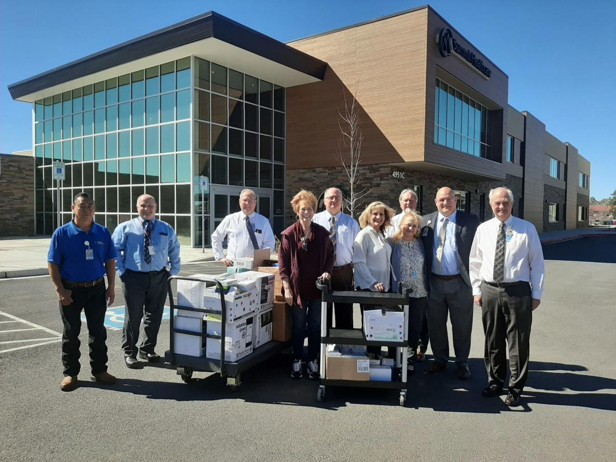 Sen. Allen brings supplies to Summit