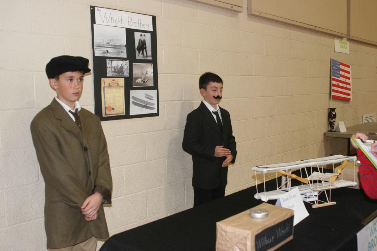 Students create living history museum - The Wright Bros