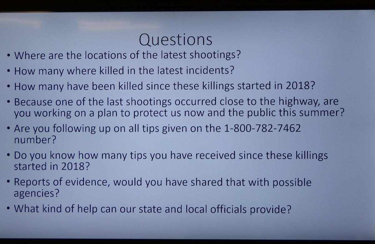 Wild horse deaths prompt questions - slide with questions