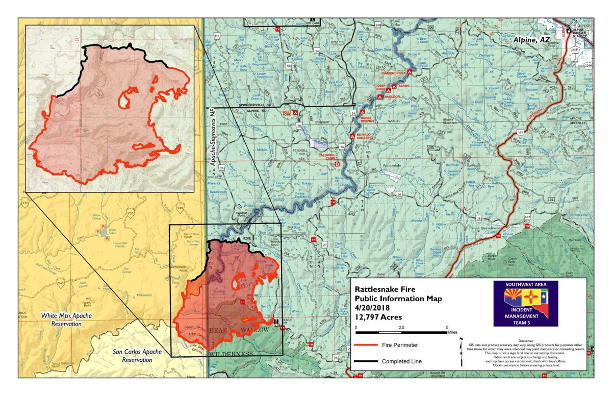 Rattlesnake Fire grows to more than 16,000 acres | Latest News
