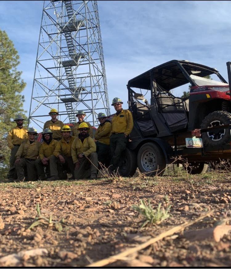 Pinetop Fire Suppression Module set on ready
