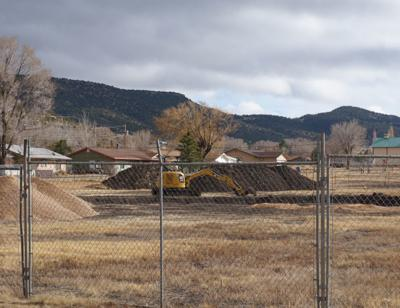 Contruction site for the LODGE