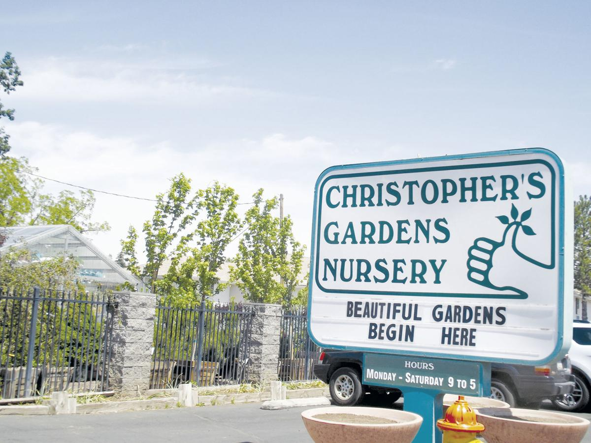 Local businesses speak out about lockdown effects - Christopher's Garden sign