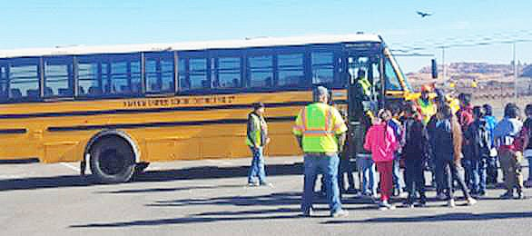 NCSO partners with Kayenta school district on bus safety