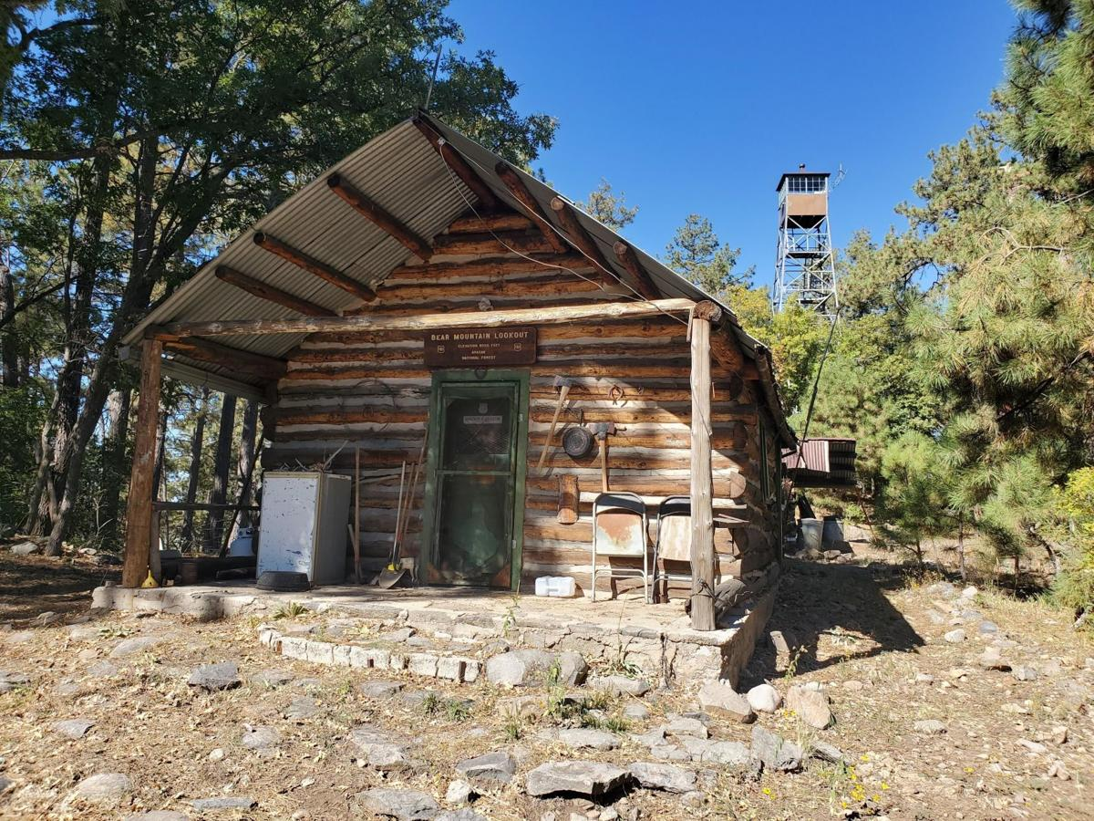 Bear Mountain Lookout protected