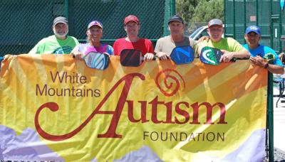 Pickleballers play for White Mountains Autism Foundation