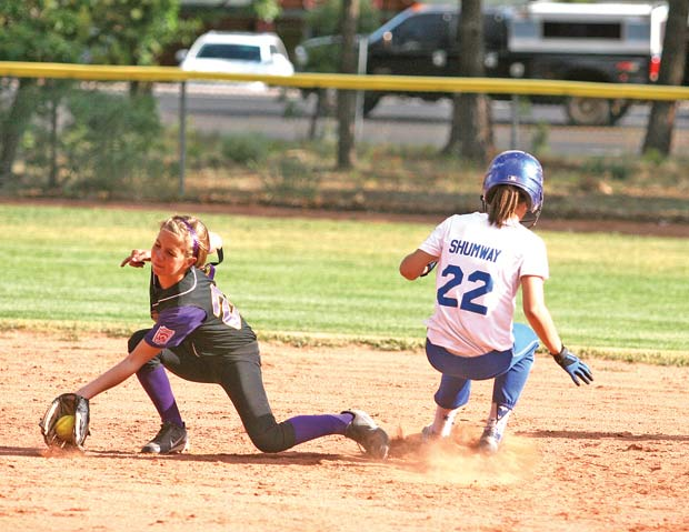 silver creek  show low majors advance to district softball tourney