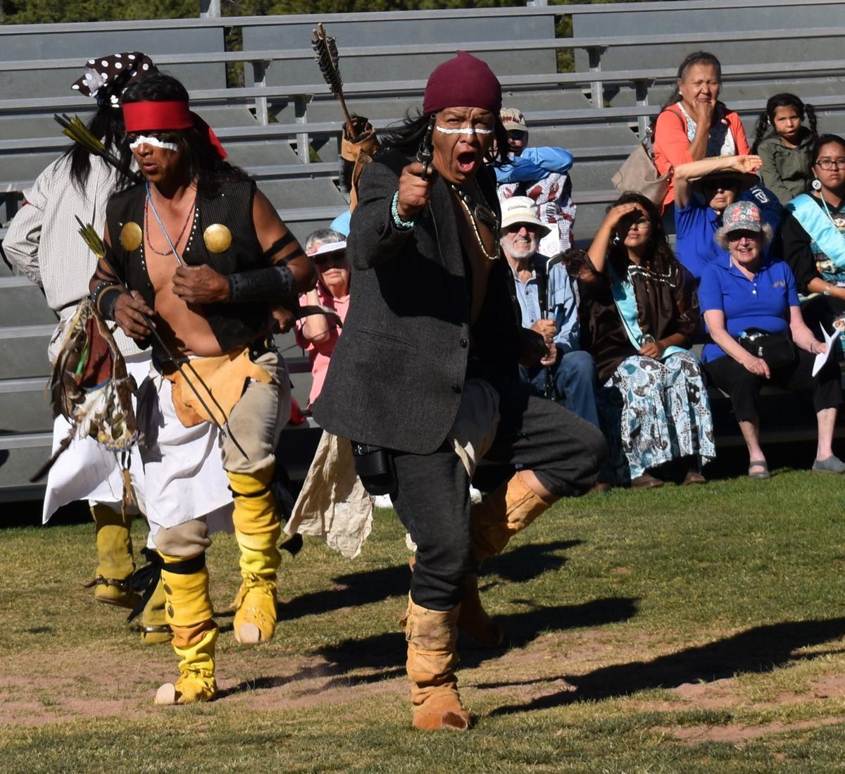 2019 Native Women Scholars-war dance