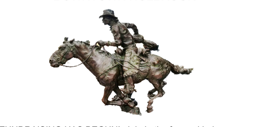 Hashknife Pony Express Monument mock up