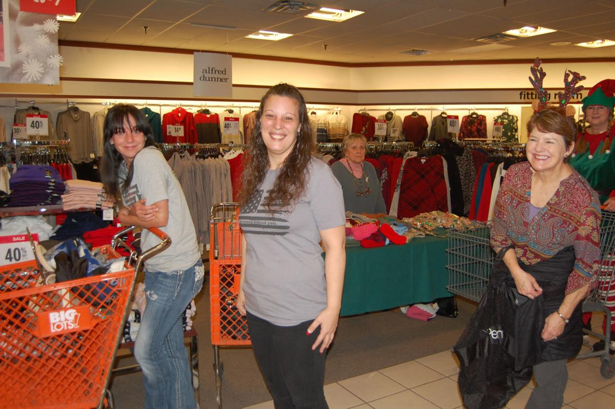 WM Clothe-A-Child helps 42 children with shopping