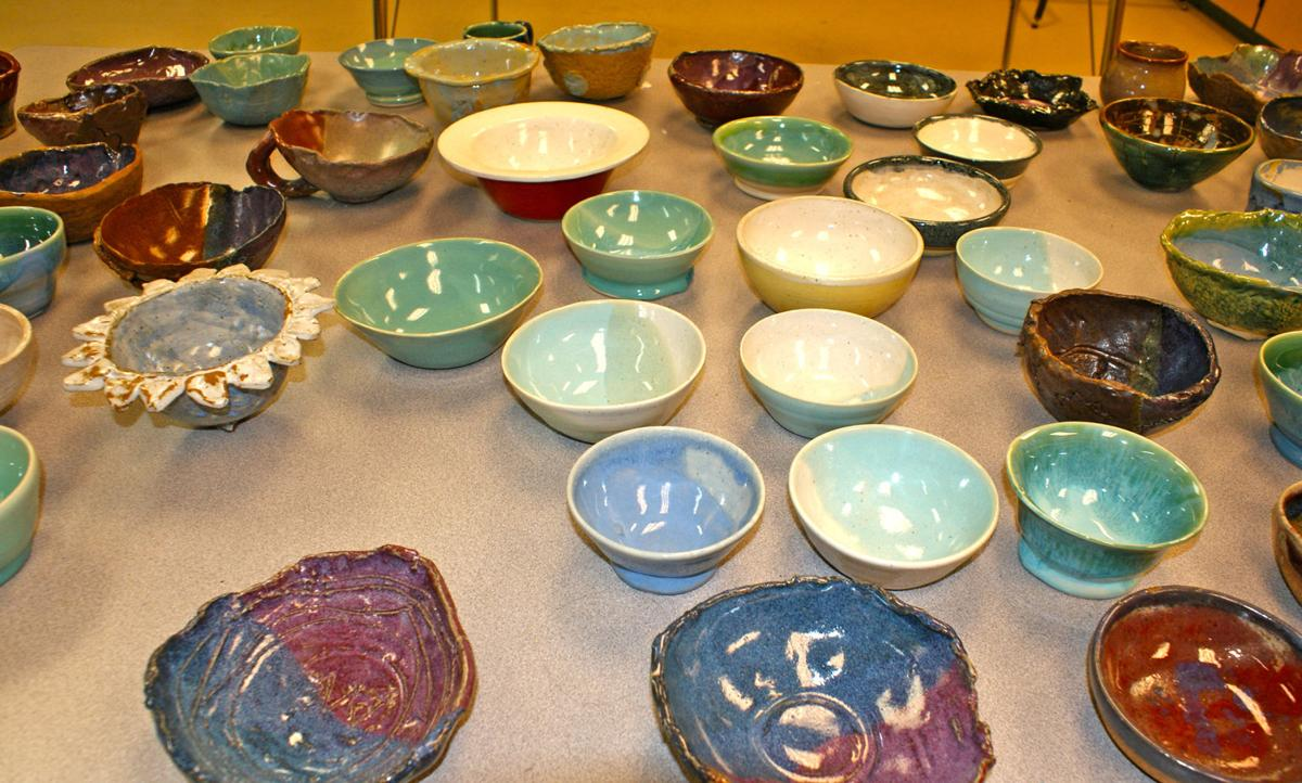 Fifth annual Empty Bowls event raises $1,620 for The Love Kitchen