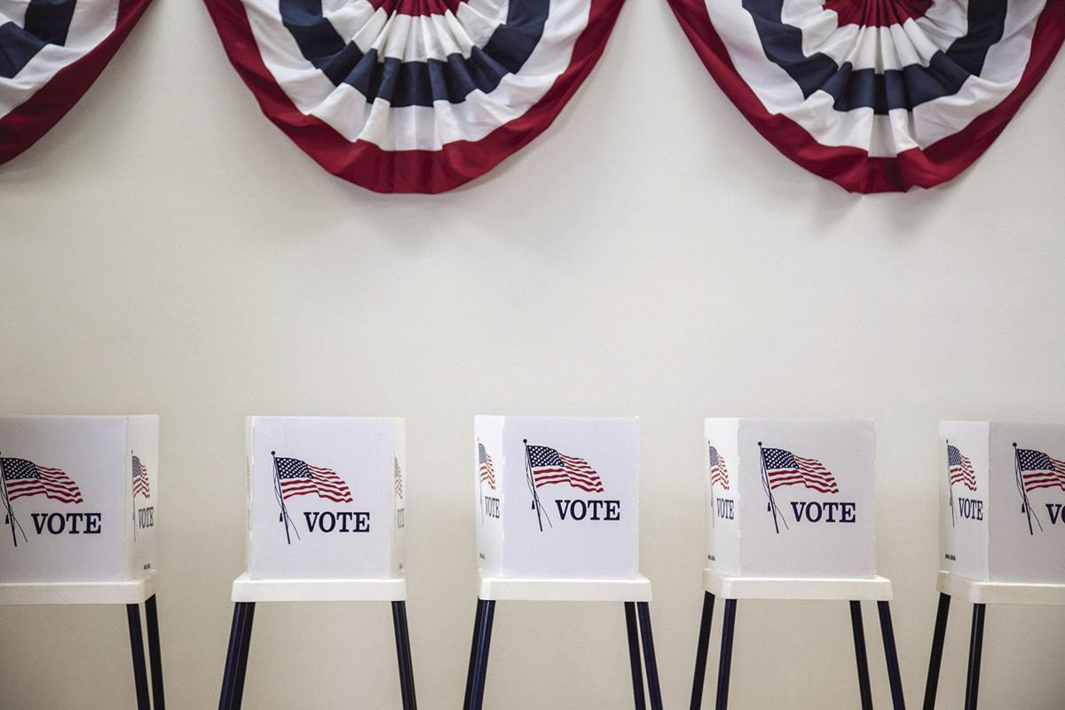Election voting booths