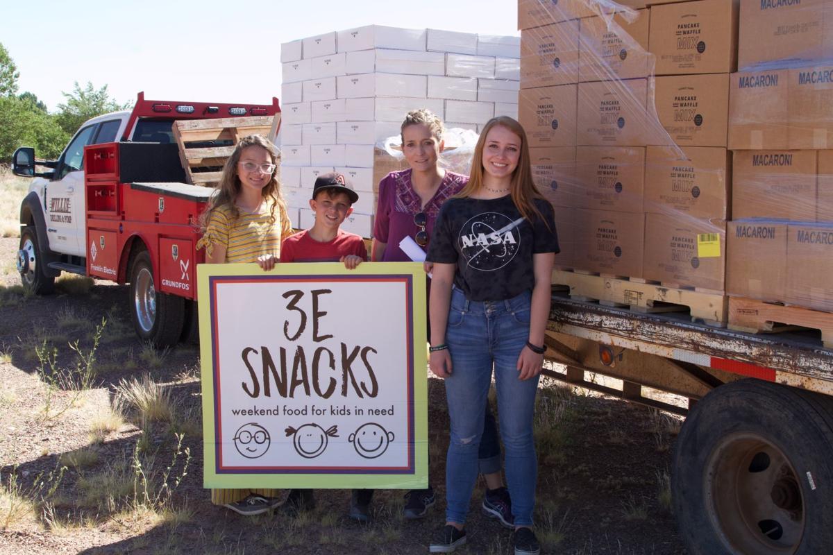 3E snacks volunteers and organizers