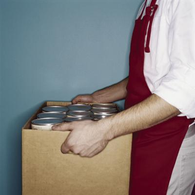 Food pantry distribution graphic