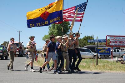 Pride of patriotism among youth in Concho
