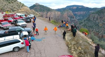 Salt River Canyon: One dead, one hurt in separate canyon