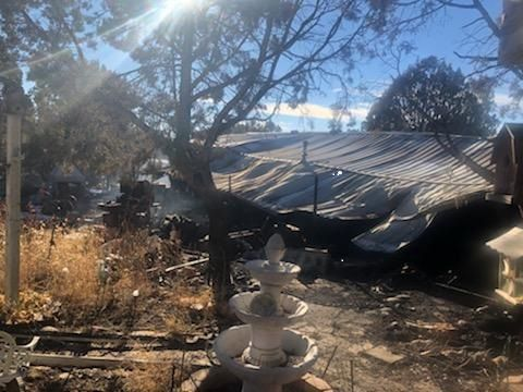 Clay Springs house fire