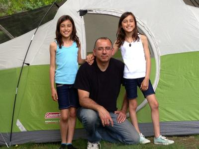 Program offers learning experience about variety of camping activities