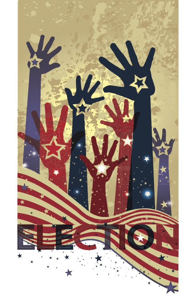 Navajo County wins grant for election security - election artwork
