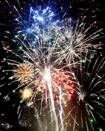 An explosive celebration