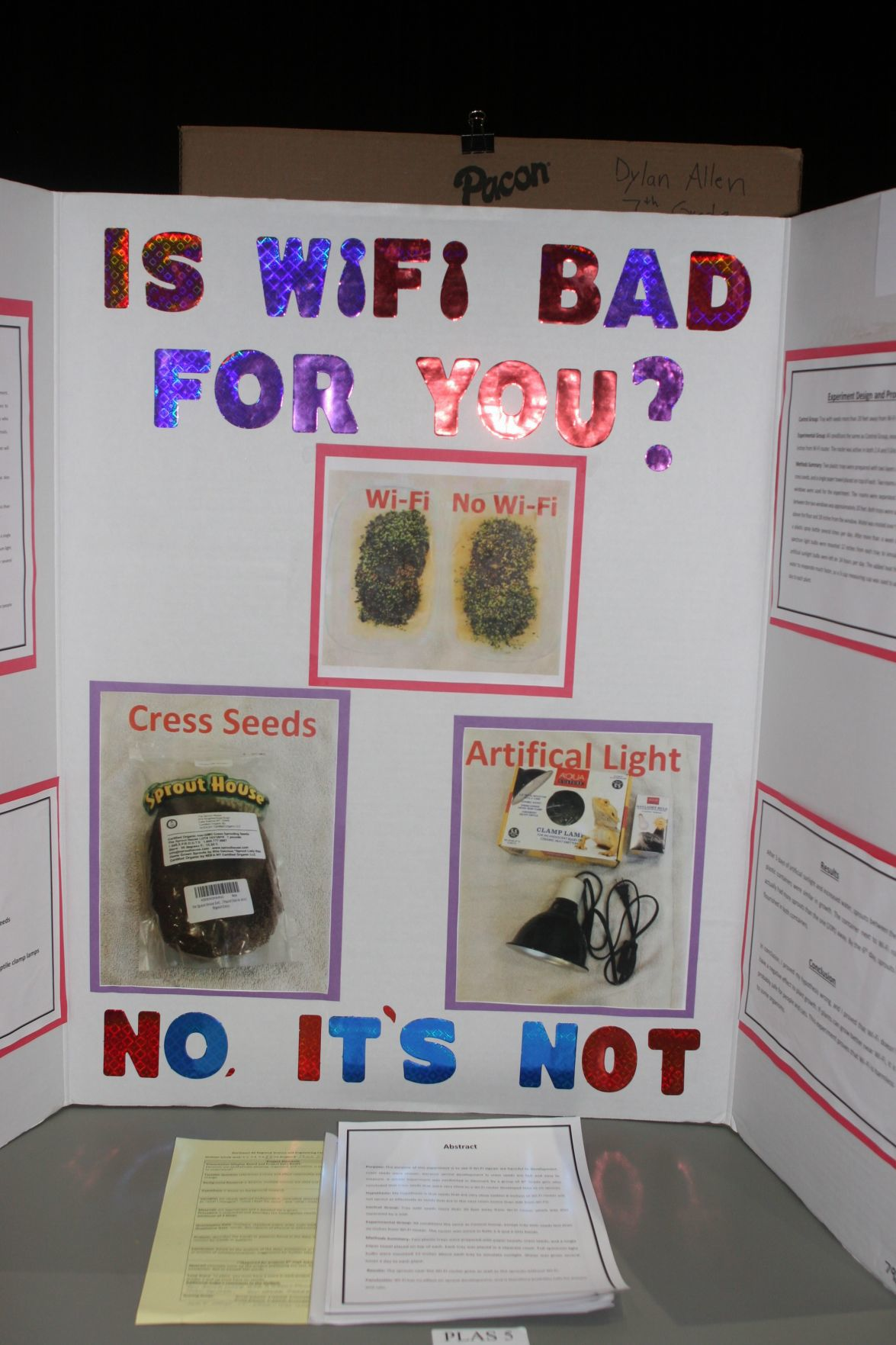 K-12 students ask tough questions at Science Fair
