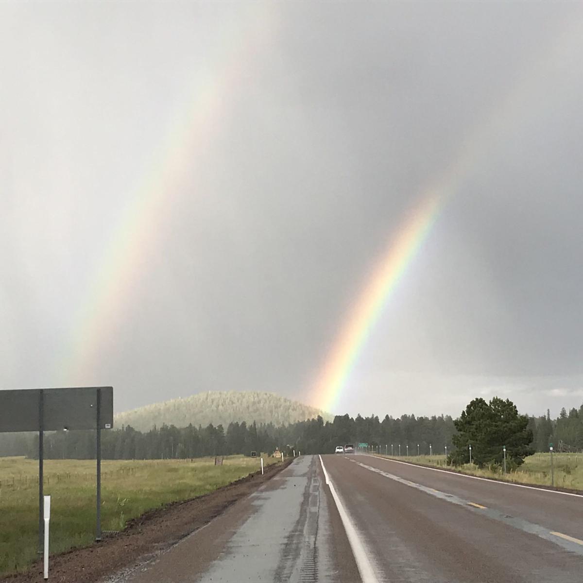 High country rainbow