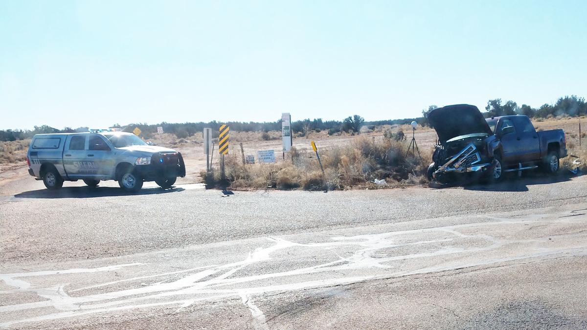 Deputies respond to two vehicle collision on Concho Highway