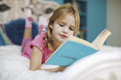 Grow A Reader Virtual Book Drive - girl reading