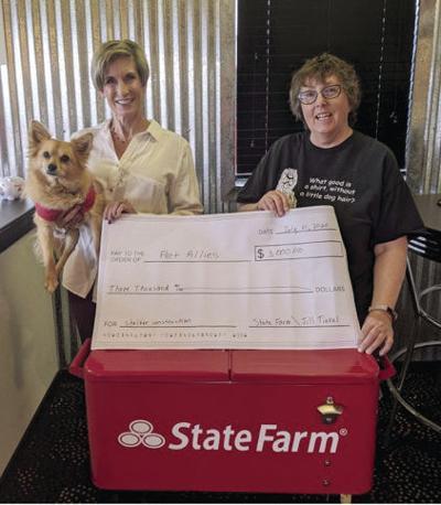 Pet Allies receives $3,000 matching grant