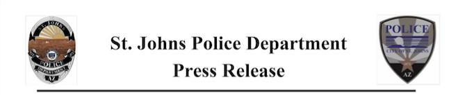 Daycare worker arrested for child sex crimes - press release masthead St. Johns Police Dept