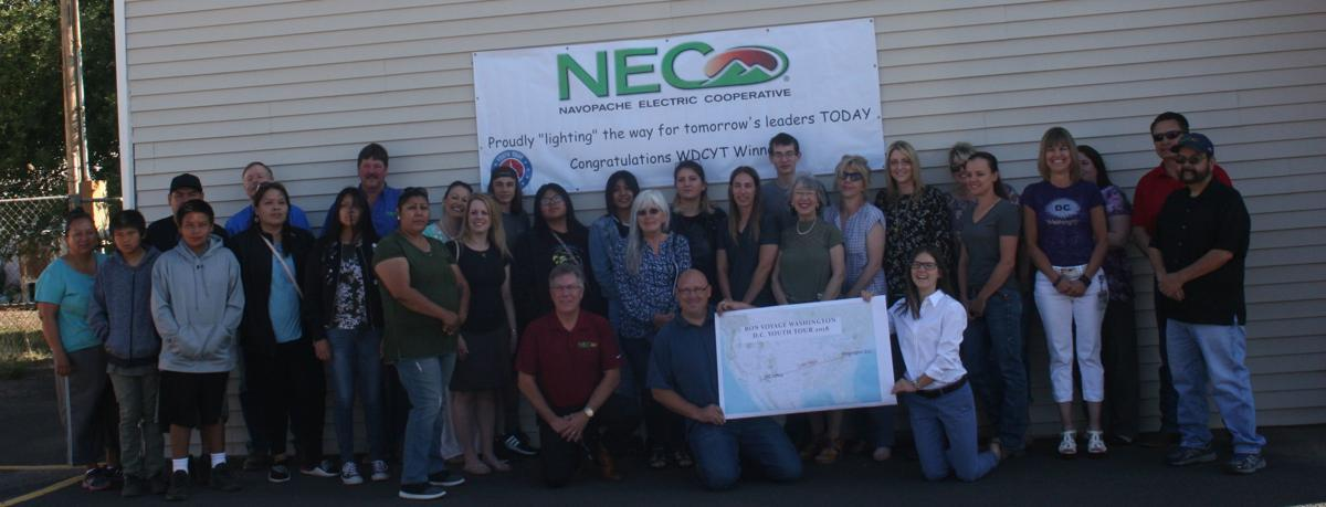 NEC employees send off students on Washington D.C. Youth Tour