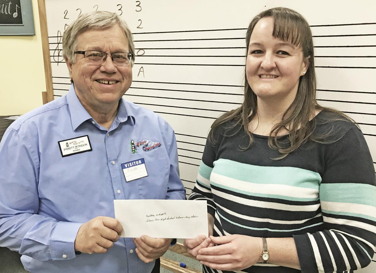 HCBC donates $2,300 to local schools