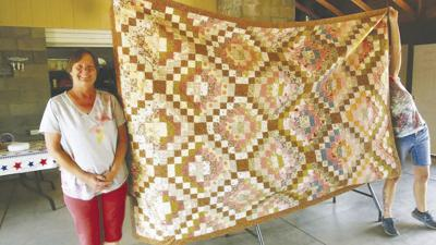 Quilt for Fundraiser at Vernon Community Park