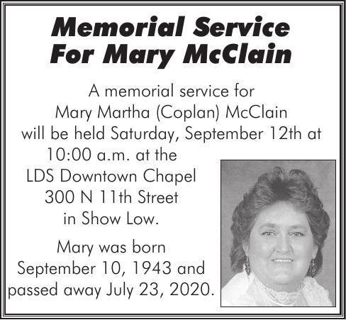 Mary McClain