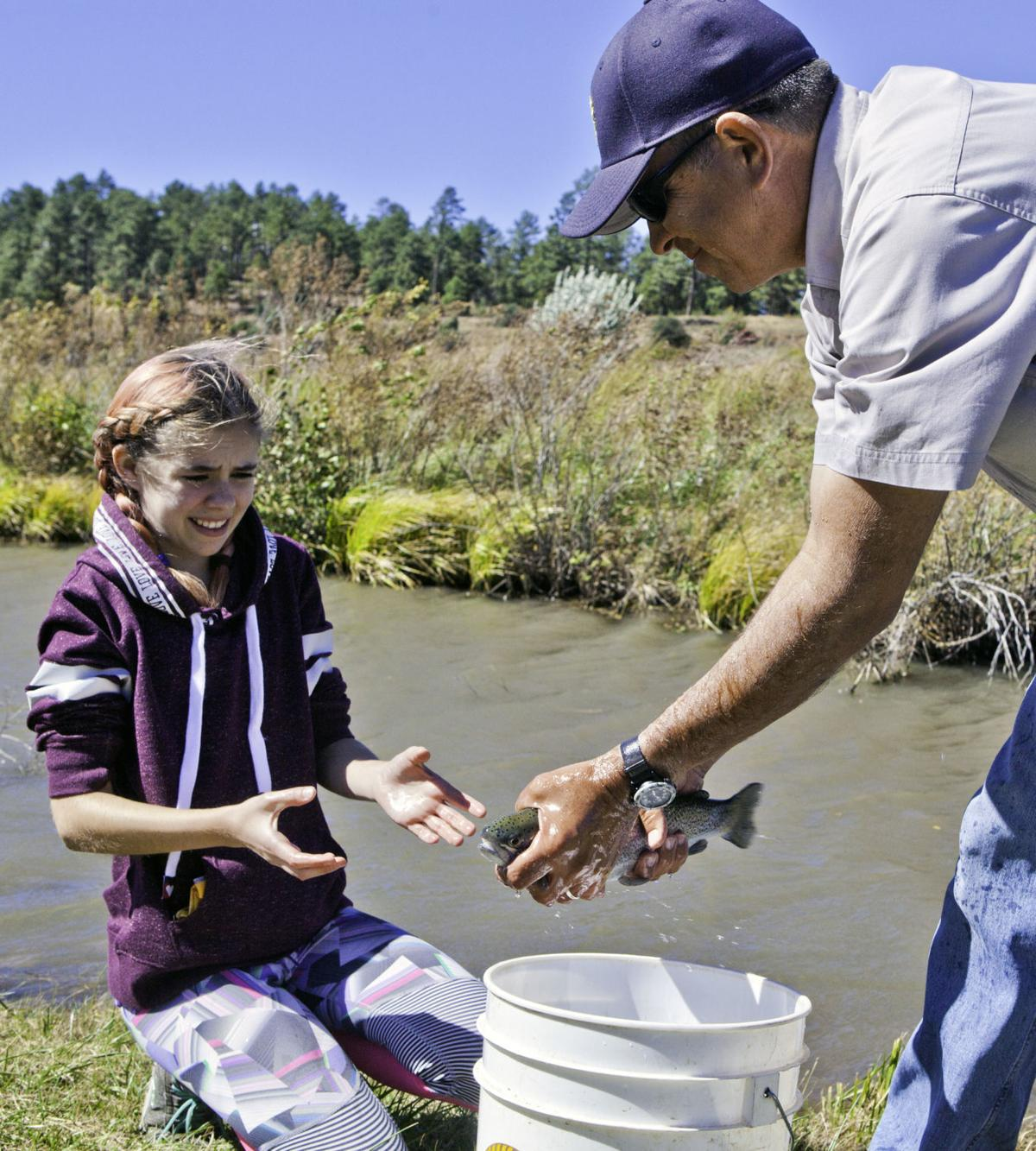 Show Low Creek stocked for community fishing