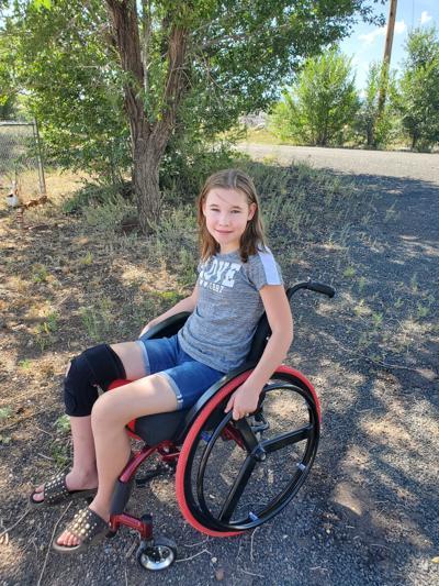 Jazzie's wheelchair