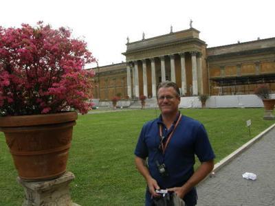 Kevin Wynn in Rome in 2010 or 2011