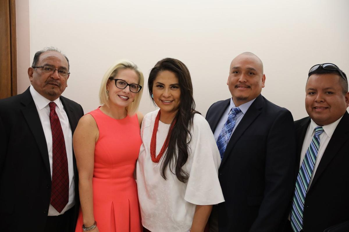 Sinema meets with WMAT on water issues