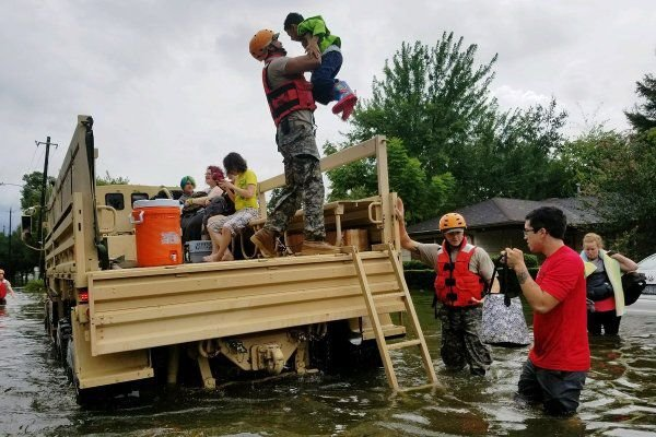 Alaska Air National Guard assists in Hurricane Harvey relief