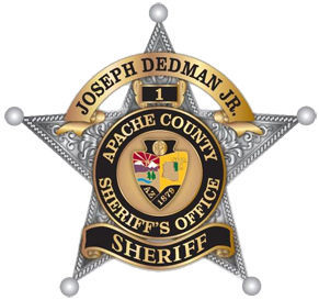 Apache County Sheriff's badge