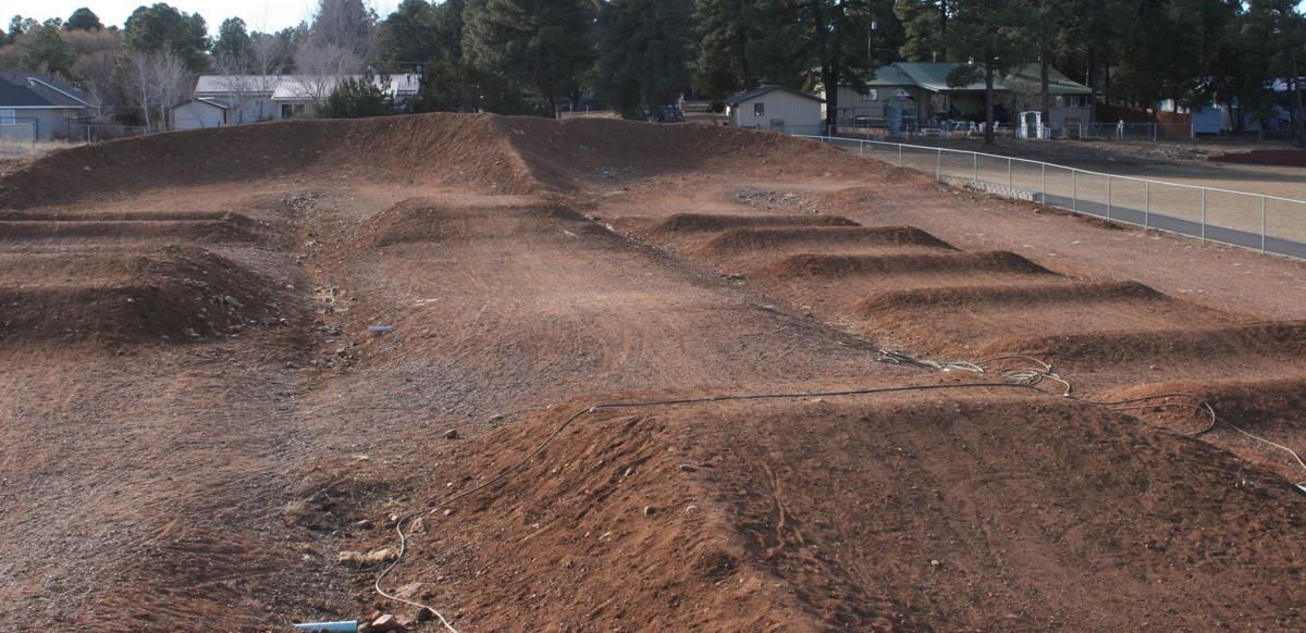 BMX track at Nikolaus Homestead Park