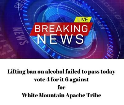 WMAT votes no to lifting alcohol ban