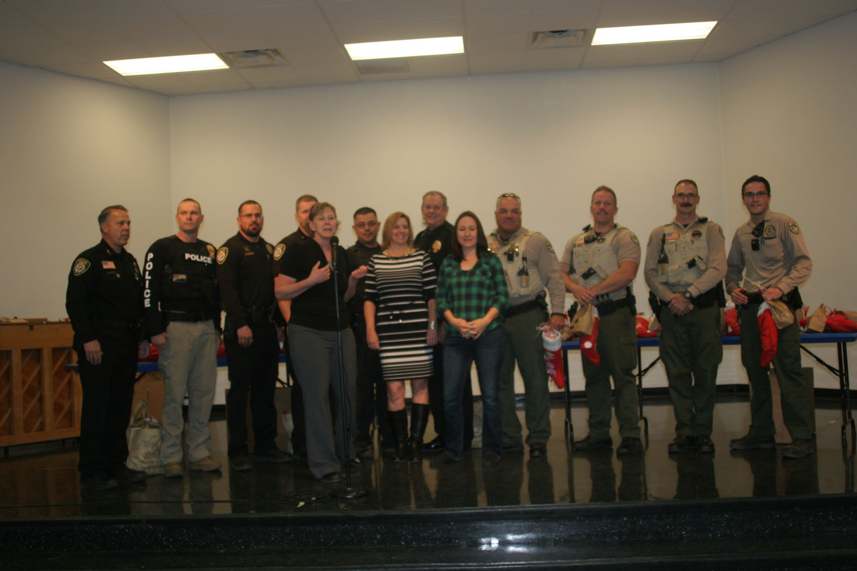 First ever Adopt A Cop demonstrates a
