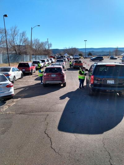 WMAT holds vaccine walk and drive through vaccine clinic