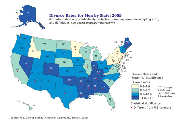 the increasing rate of divorce rates in the united states Marriage rates in the united states in 2016,  divorce rate in the united states from 1990 to 2016 (per 1,000 of population) us - divorce rate 1990-2016.