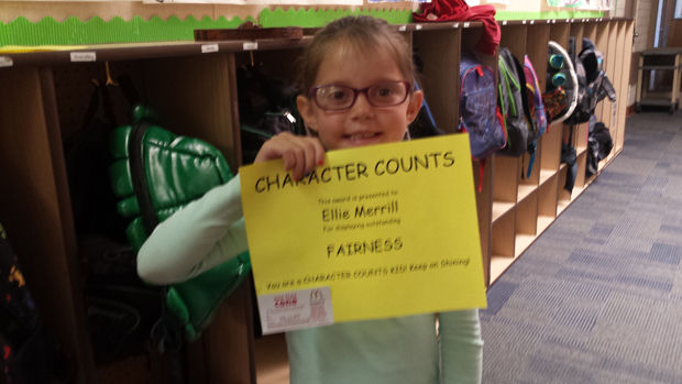 RVES honors students for demonstrating fairness in March