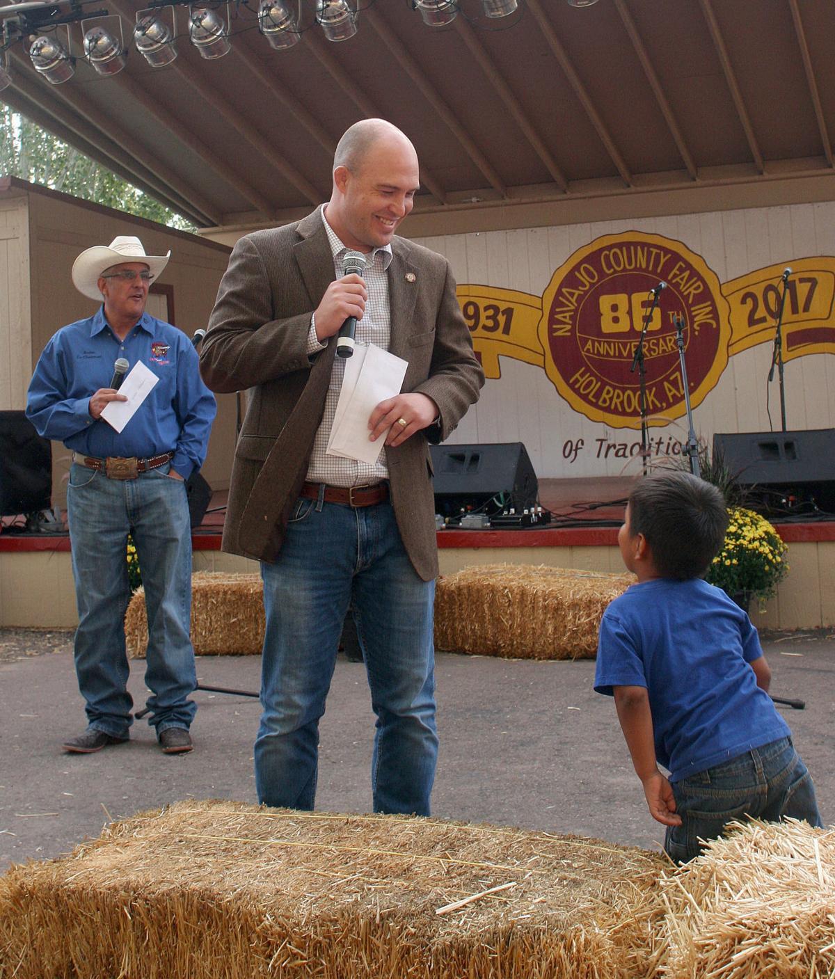 Steve Williams at County Fair