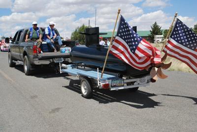 Memorial Day parade in Concho